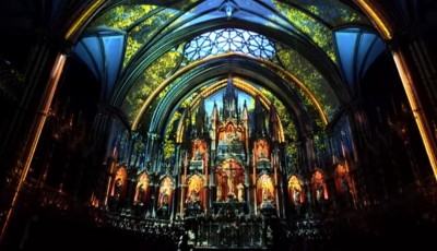 Lighting Design: la Basilica di Notre-Dame Di Montreal ha una incredibile aura multimediale
